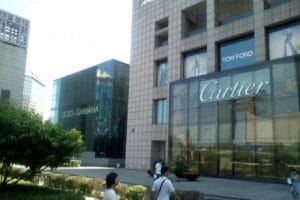 Very high end fashion label shops in Beijing