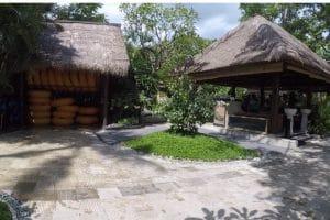 A tidy area inside waterbom bali