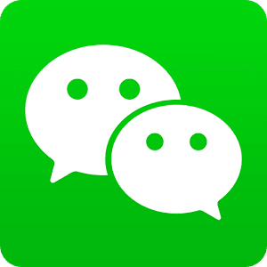 The wechat logo