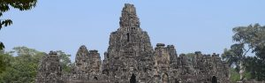 A very large temple ruin in Angkor Wat - Backpacking Cambodia