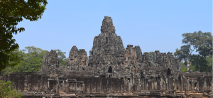 Angkor Wat temples - Backpacking Cambodia