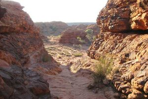 A canyon in the outback australia, you'll see these with any outback jobs