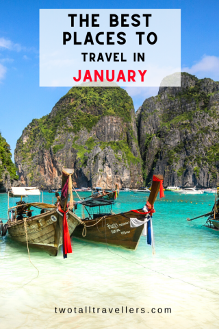 Travel in January is always exciting because you can fight the post-Christmas blues by jumping on a plane! Find the best places to travel in January here and start the year off in style! Where to go in January | Post Christmas Blues | Winter Travel | New Year Adventures | January Destinations | #cold #escapes #newyear #2020 #travel #exploring #newadventures #newyearsresolutions #travelmore