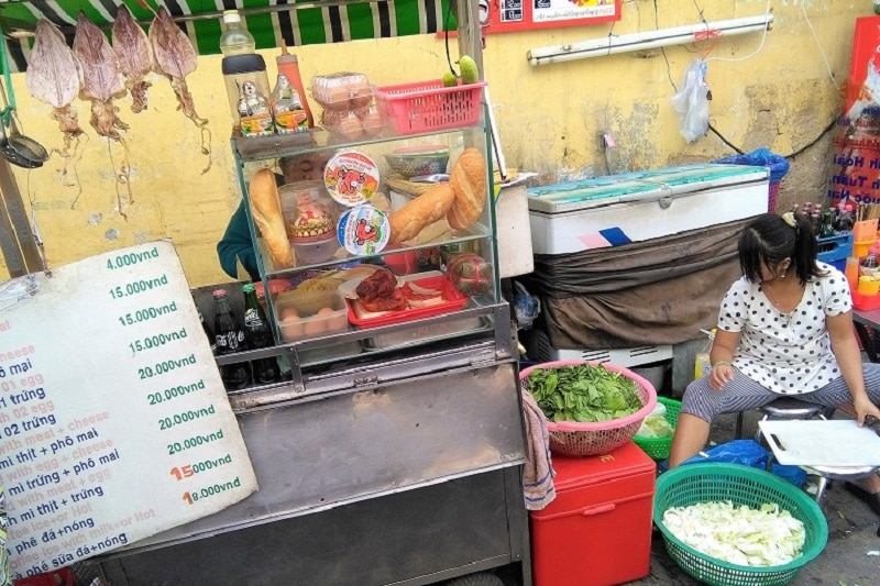 Cheap Banh Mi in Ho Chi Minh City Saigon Vietnam Backpacker's Guide to Vietnam