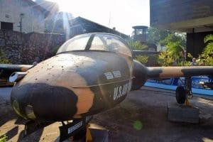 A US military aircraft at Ho Chi Minh