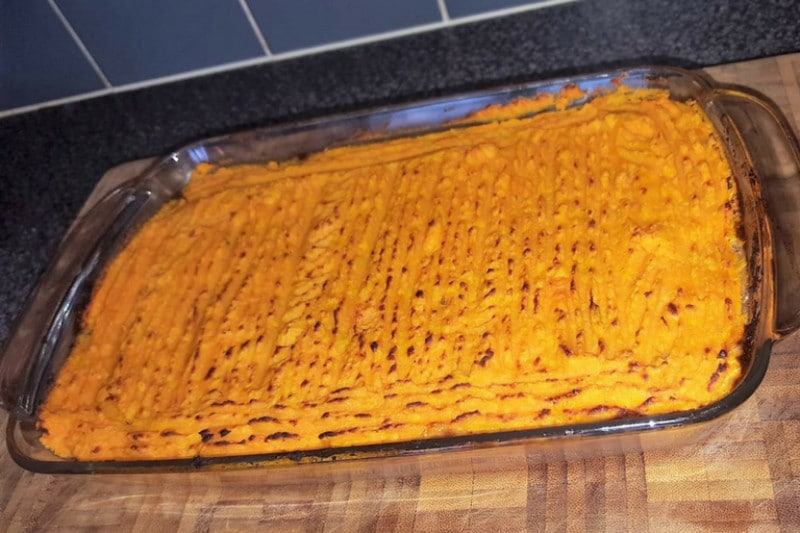 A large shepherds pie