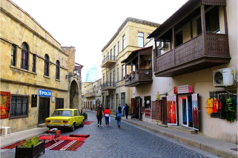 Street in Baku