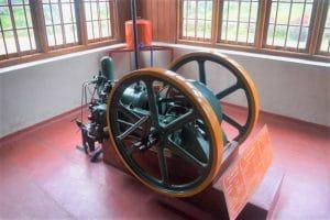Tea machine in Ceylon Tea Factory Kandy