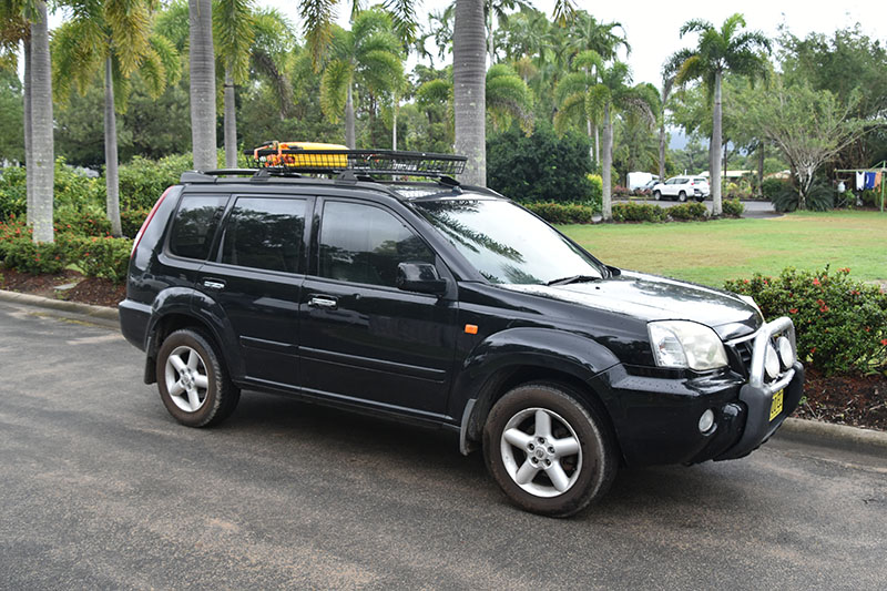 A Nissan X-trail used whilst backpacking Australia