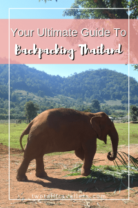 Backpacking in Thailand is the number one choice for so many travellers! Read this guide for all the information you will need. Backpacking Thailand | Travelling Thailand | Thai Food | Thai Culture | Thai Hostels | Ethical Animal Sanctuaries | Southeast Asia | #travel #backpackingThailand #southeastasia #thaifood #thailand #ultimateguide
