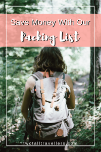Packing List For Backpacking - Pinterest 2