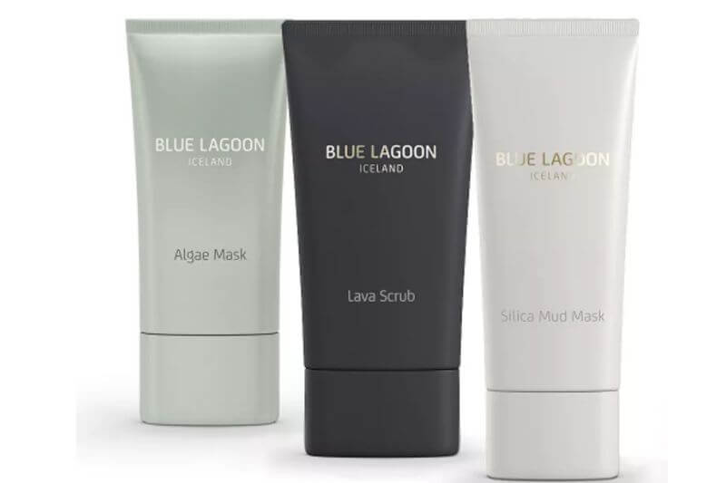 3 tubes of face mask - one grey, one black one white