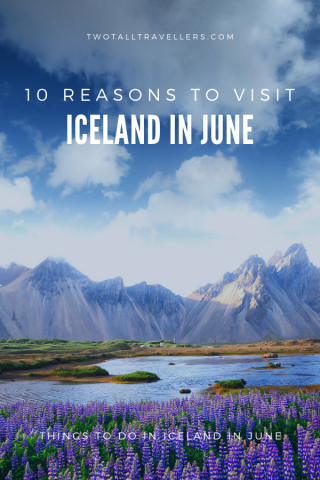 Visiting Iceland in June is the perfect way to explore the country in a unique way. Whether you're looking for breath-taking waterfalls, amazing wildlife or mild weather, you can find it all in Iceland at this time of year. Here are our top reasons you should be booking your next trip to Iceland in the summer! #2020travel #icelandtravel #reykjavik #inspiredbyiceland | things to do in Iceland | Iceland in summer | What to pack for Iceland in June | Visiting Iceland in June