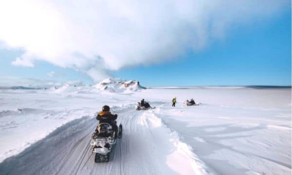 Snowmobiling in Iceland Homepage