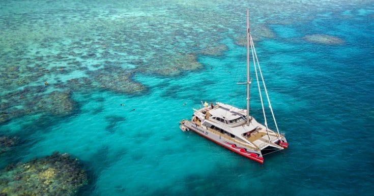 Great Barrier Reef: Premium Catamaran Cruise from Cairns