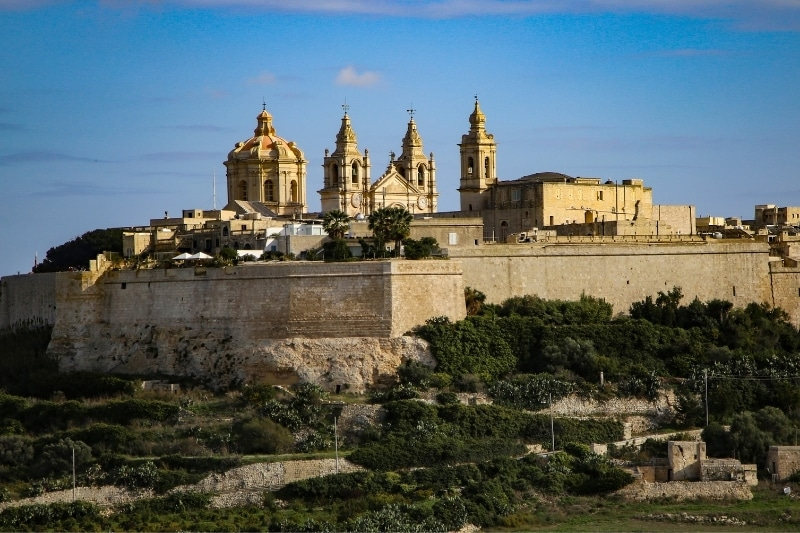 Mdina, the fortified city
